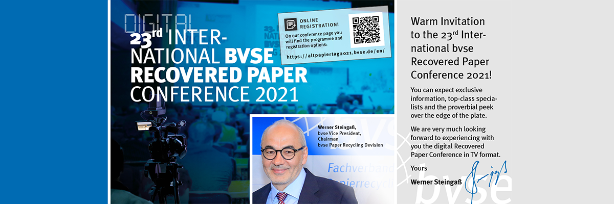 23rd International BVSE Recovered Paper Conference 2021
